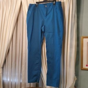 Ashley Stewart sz 18 dark teal jeans